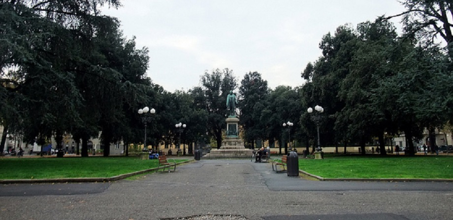 Piazza Indipendenza Square in Florence
