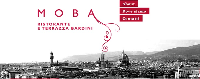Moba in Florence aperitifs and dinners