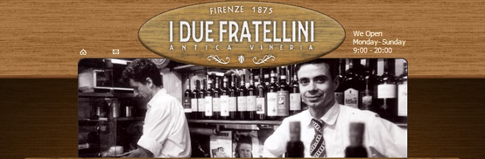 Dai Fratellini in Via dei Cimatori-website