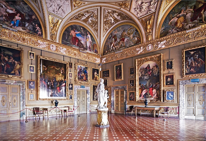 Palazzo Pitti in Florence - Inside Detail