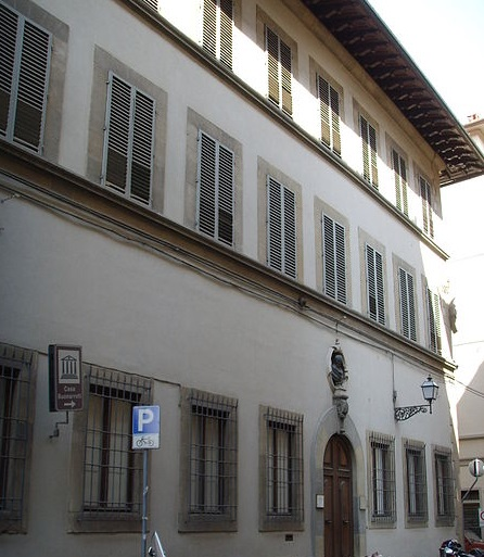 Casa Buonarroti the House of Michelangelo Building
