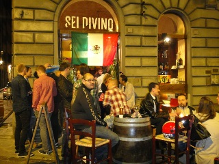 Sei Divino Wine Bar in Florence Italy - Mexican Night 2