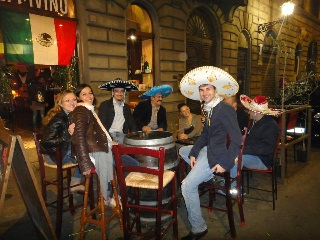 Sei Divino Wine Bar in Florence Italy - Mexican Night