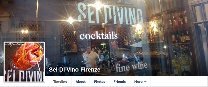 Sei Divino wine bar in Florence