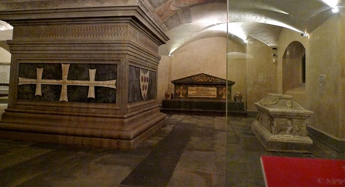 The Medici Chapel the Crypt